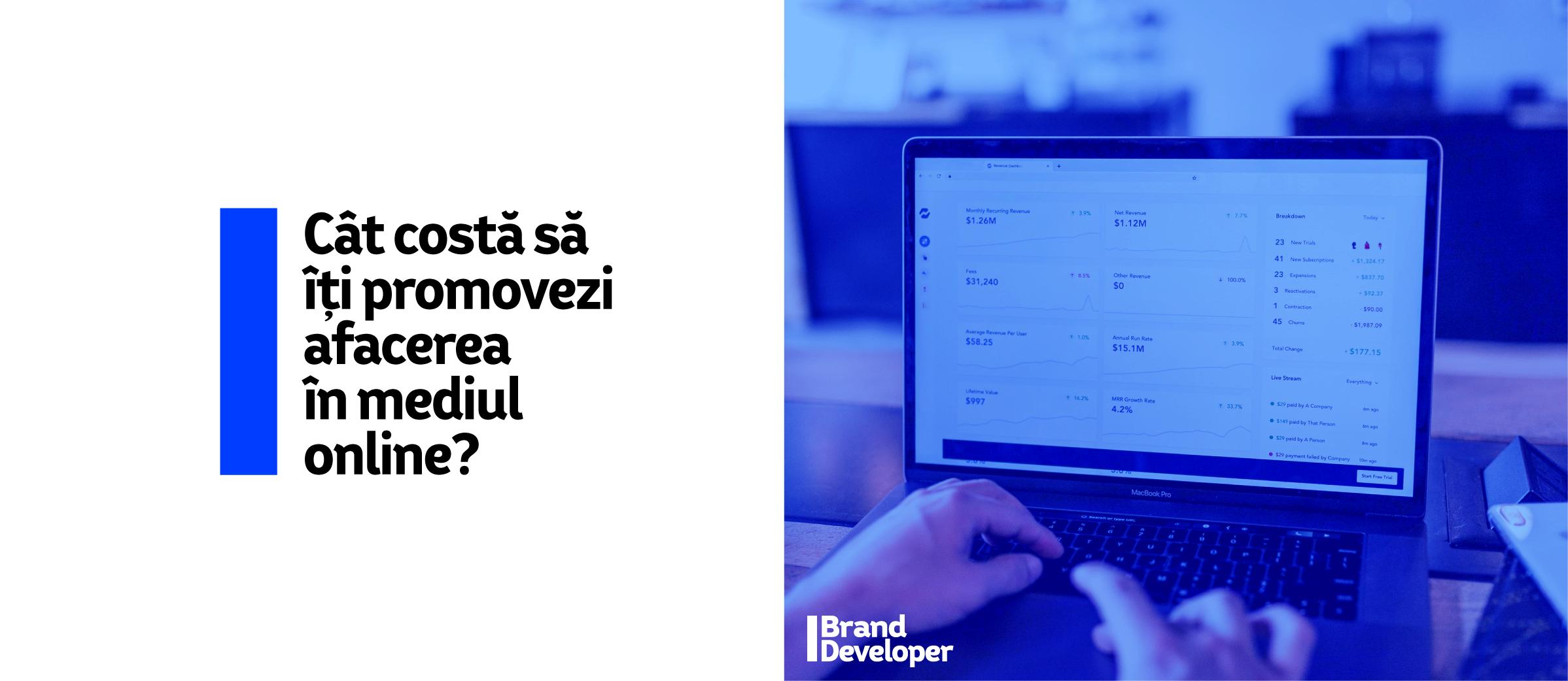 Cât costă să îți promovezi compania în mediul online?